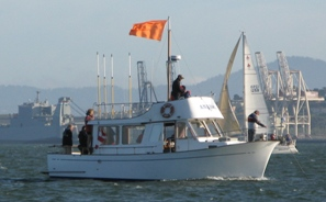 Race Committee Boat 'Anabel'